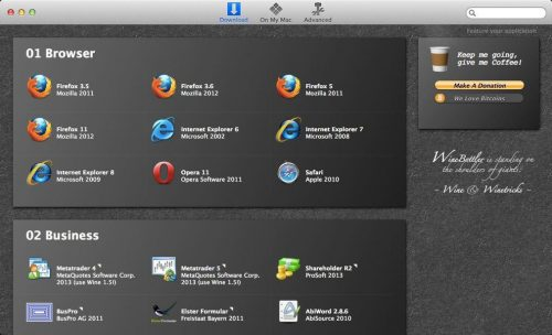 Instalando programas de Mac no Windows