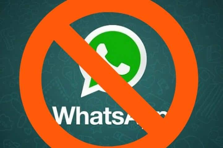 Bloqueio do WhatsApp