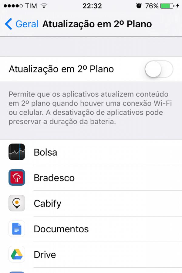 deixar iphone4s mais rápido
