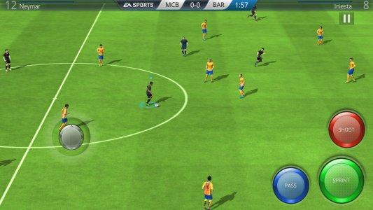 Jogos de esporte no Android