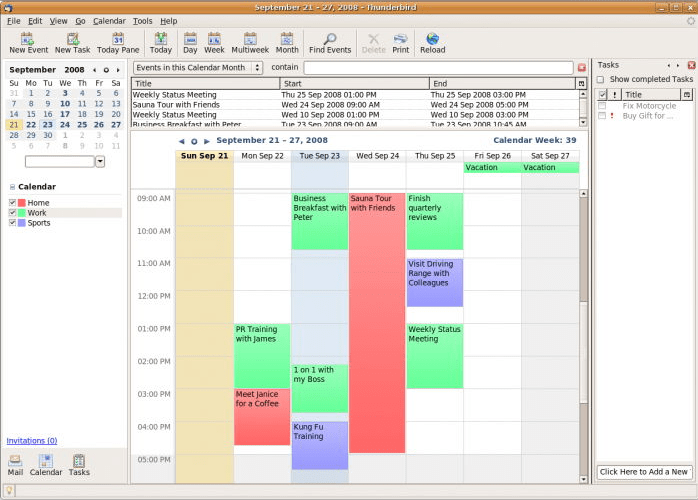 Melhores apps de agenda para Mac