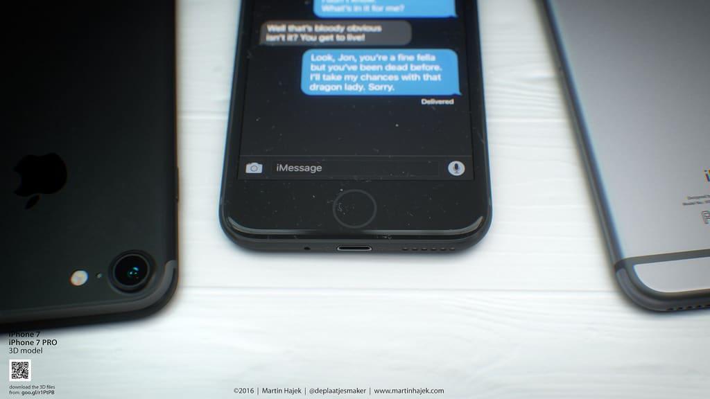 Modelos do iPhone 7
