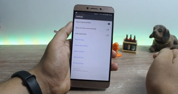 Prisma no Android