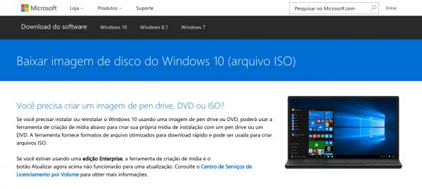 baixar windows 10 para mac