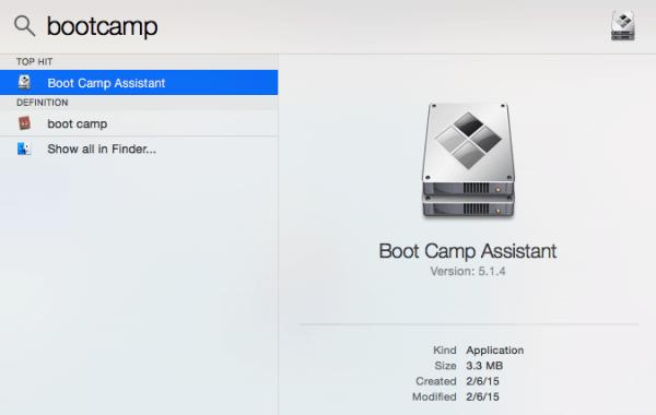 bootcamp no mac