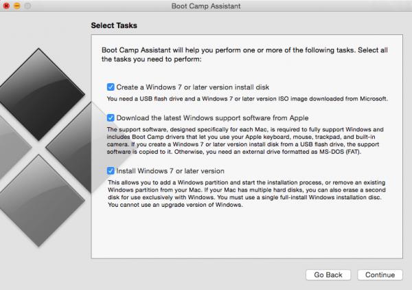 instalando windows no mac