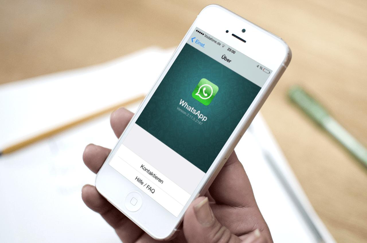 WhatsApp no iPhone