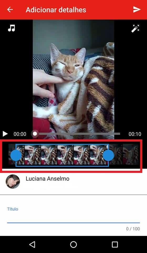 editar vídeos no android