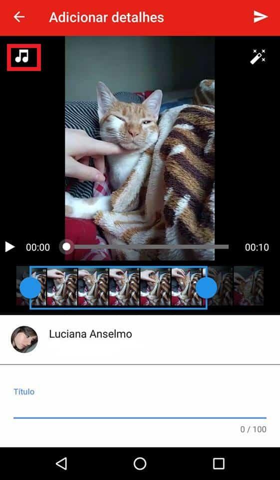 editar vídeos no youtube