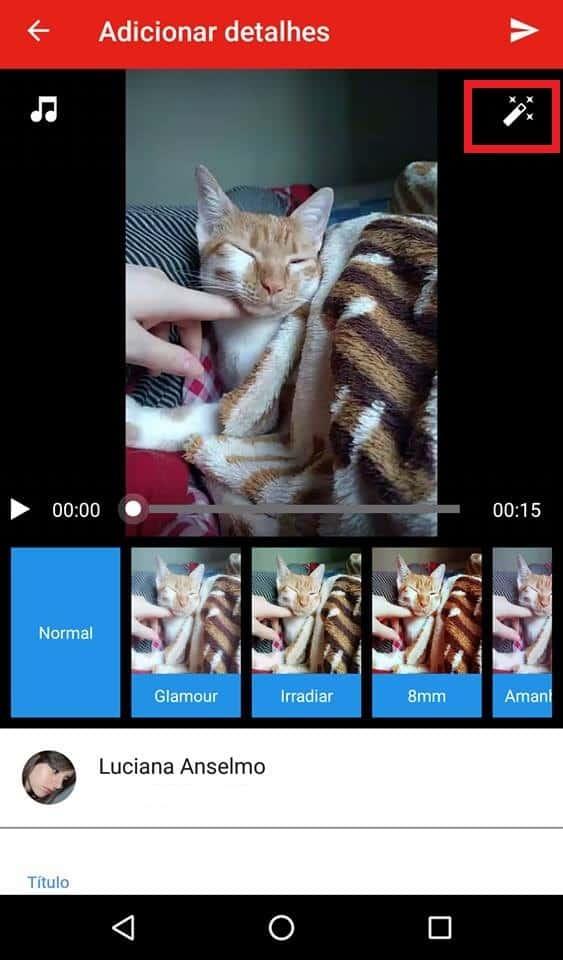 filtros youtube