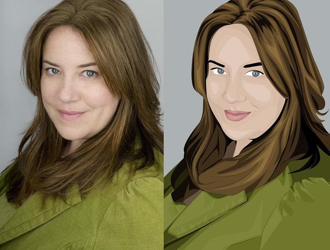como transformar foto em desenho