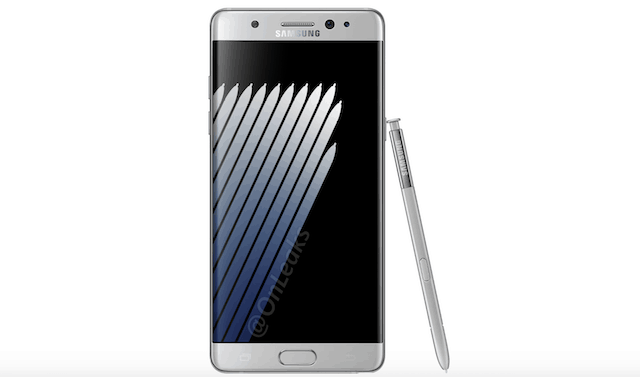 Fotos do Galaxy Note 7