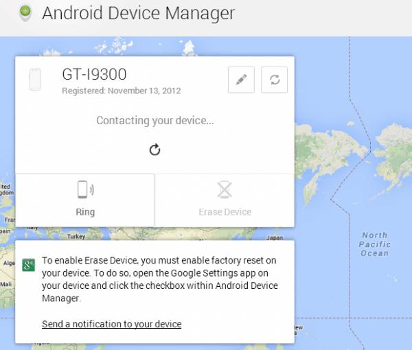 como rastrear android