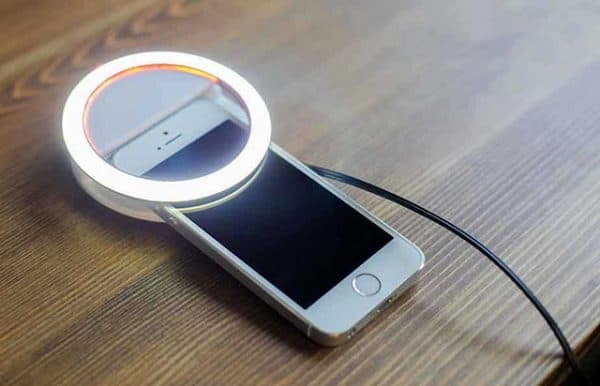 light ring no iPhone