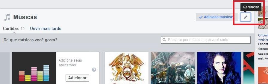 paginas curtidas facebook
