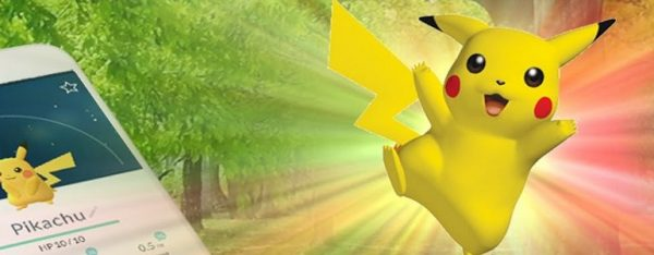 como ter o pikachu em pokemon go