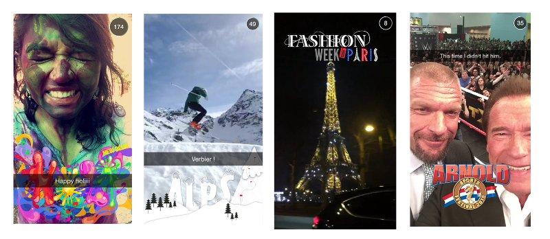 Snapchat para negócios