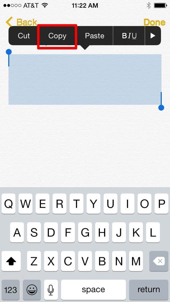 texto do snapchat
