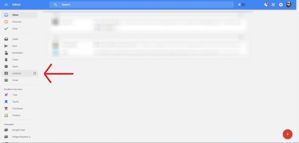 Contatos perdidos no Android