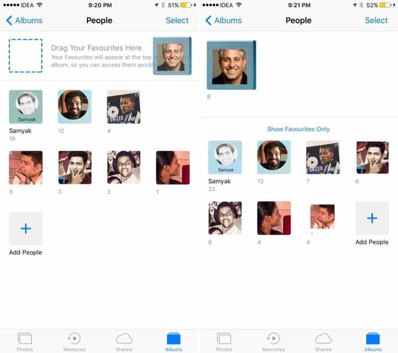 Fotos no iOS 10