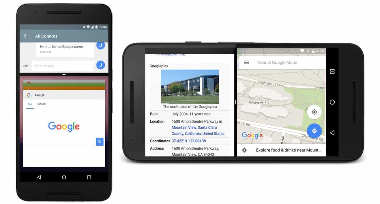 Funções do Android Nougat