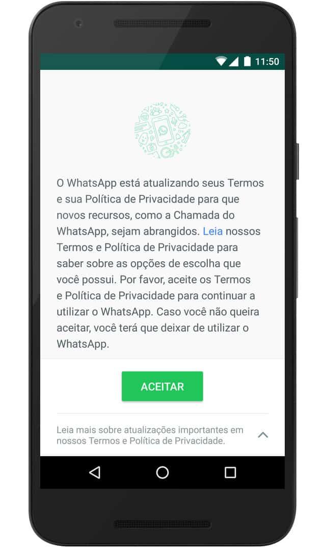 WhatsApp com Facebook