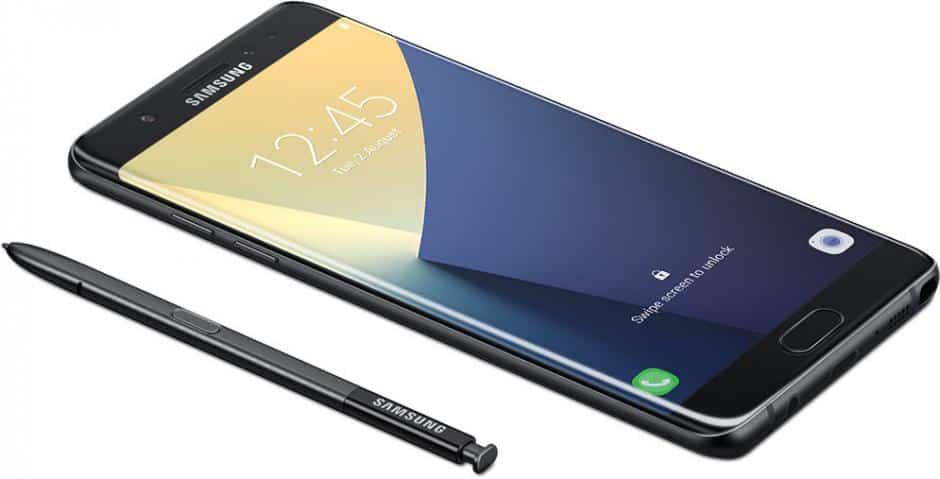 configurar digitais no Galaxy Note 7