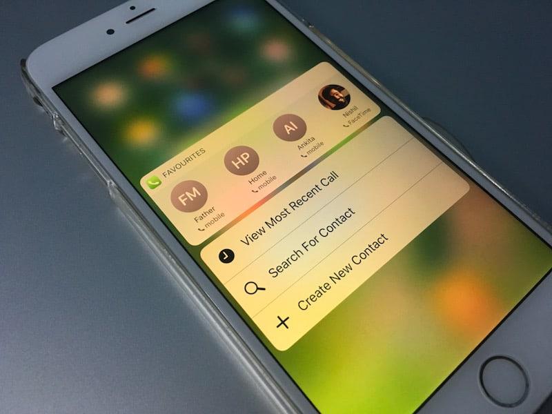 fazer ligações no iPhone