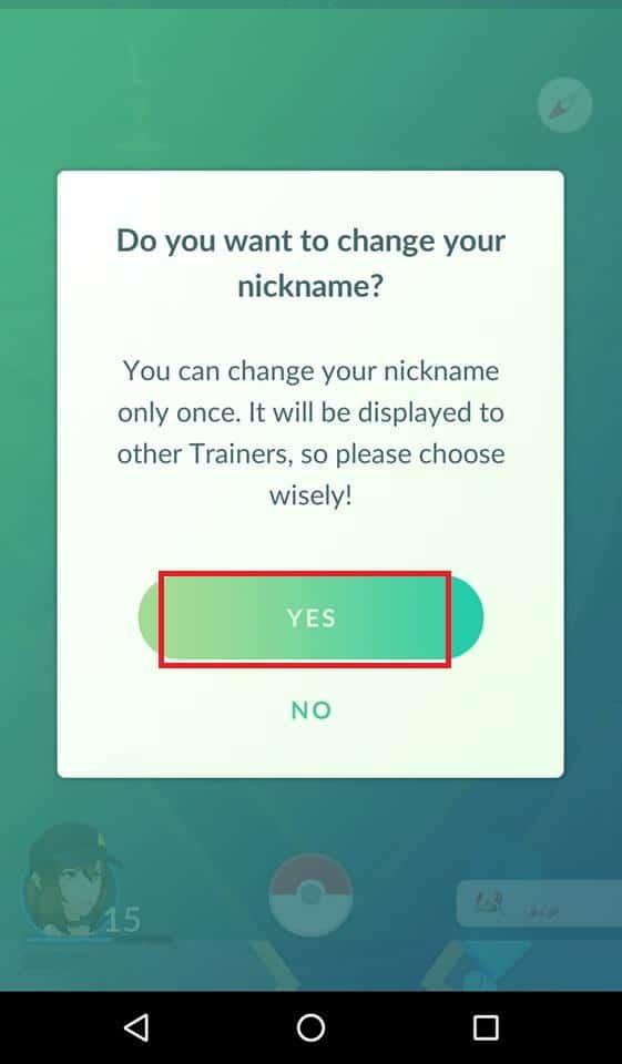 nome de usuário pokemon