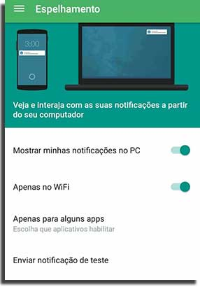 notificar novos dispositivos pushbullet