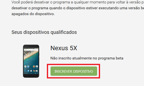 programa android beta
