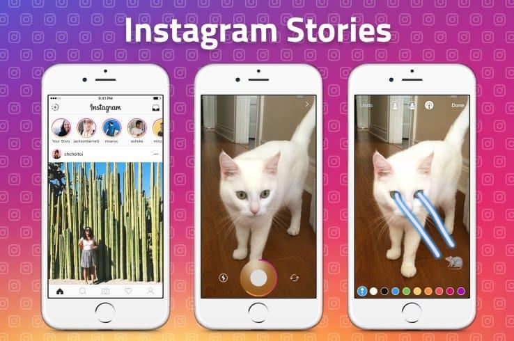 publicar snaps no instagram stories