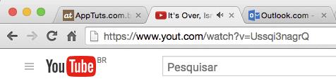 usando o yout para baixar video