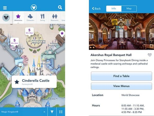 apps para visitar a disney experience