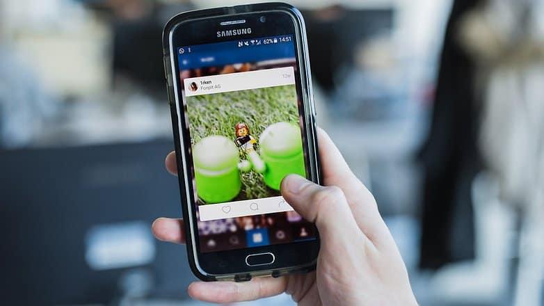 criar postagens no instagram zoom