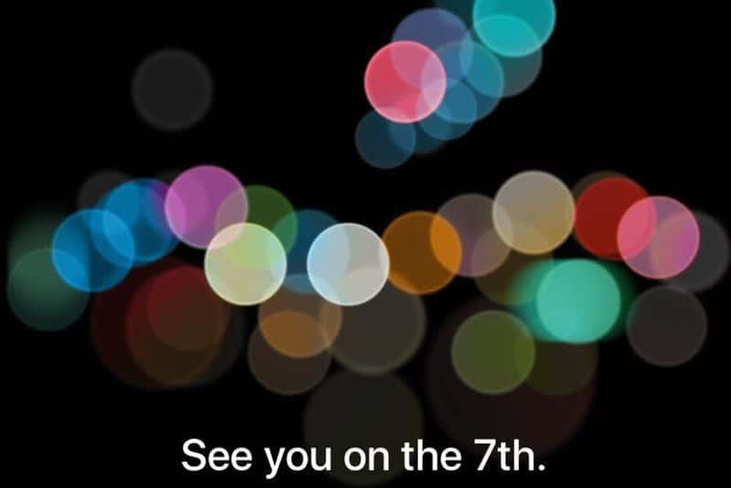 revelação do iPhone 7