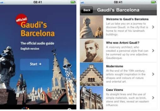 aplicativos-de-viagem-para-barcelona-gaudi