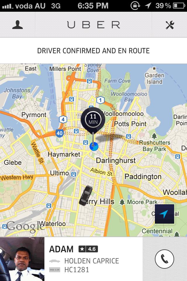como usar o Uber motorista
