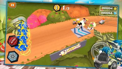 jogos-de-corrida-para-iphone-cartoon