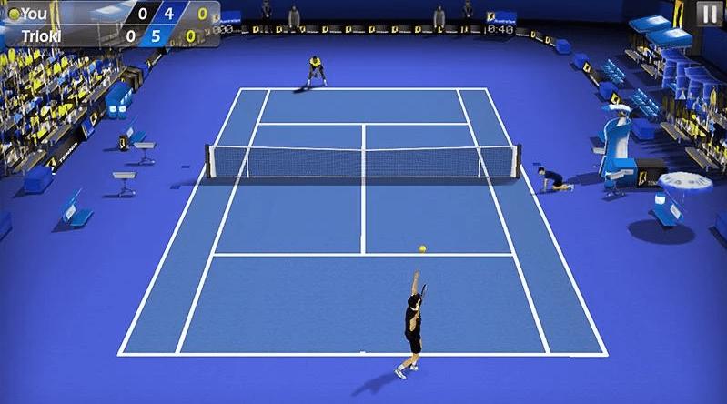 jogos de tênis para android