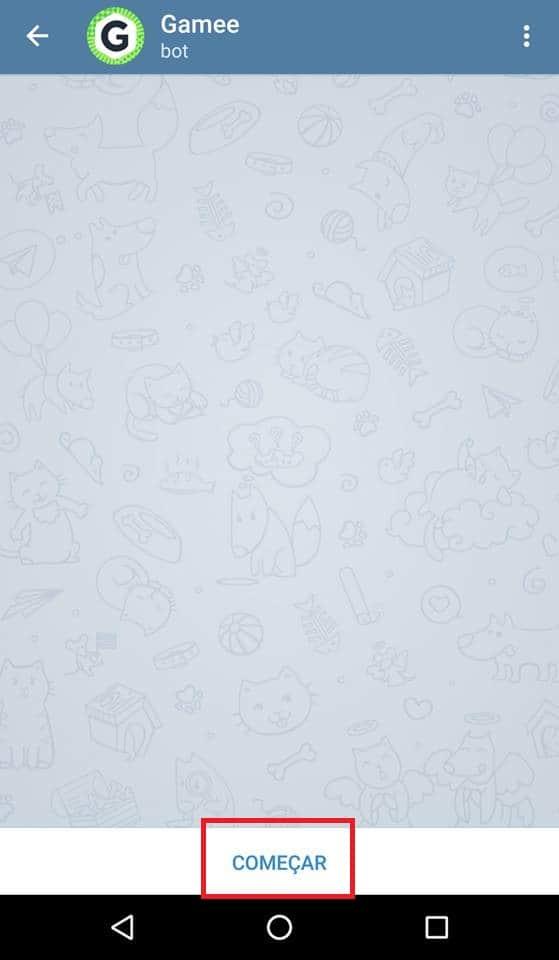 como jogar no telegram bot