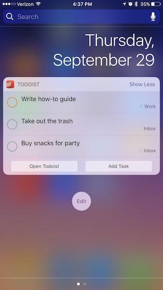 widgets-todoist