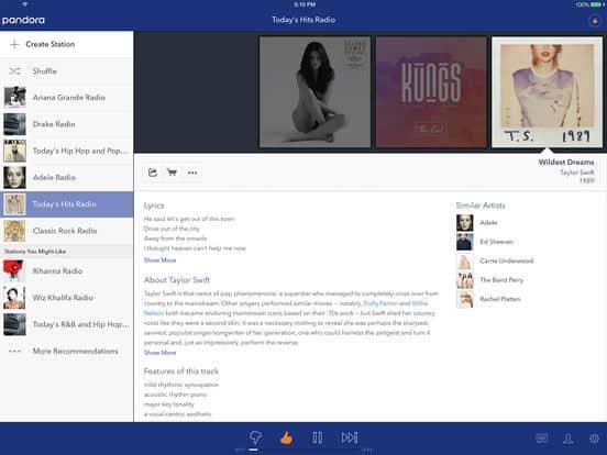 aplicativos-para-ouvir-musica-no-iphone-e-ipad-pandora