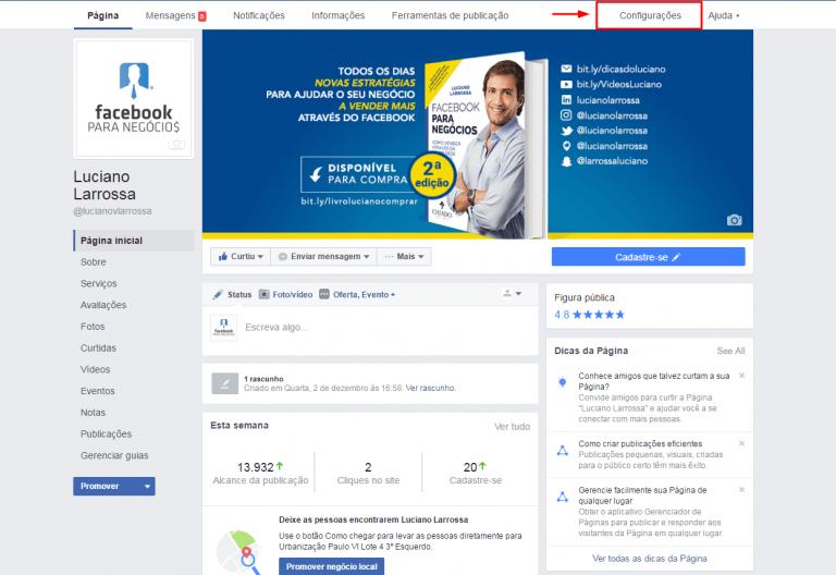 baixar-fanpage-facebook-configuracoes