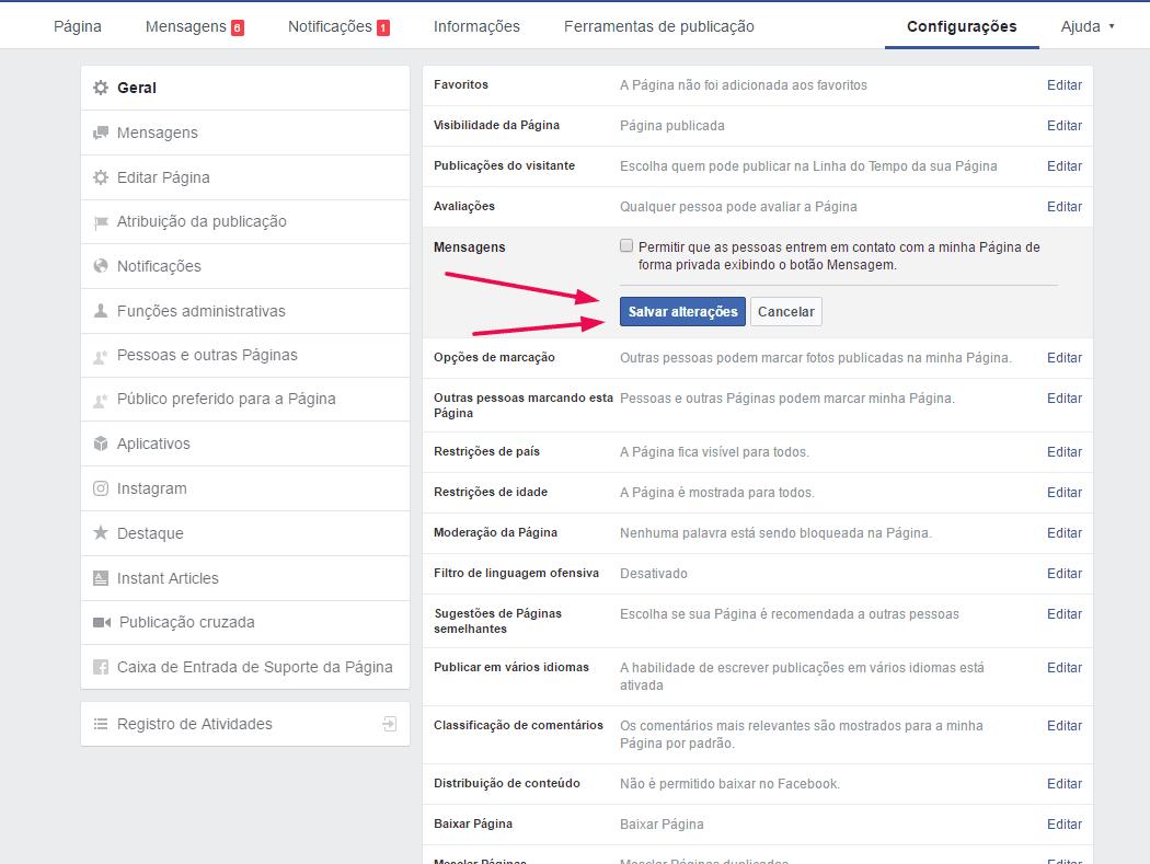 bloquear-mensagens-na-fan-page-salvar