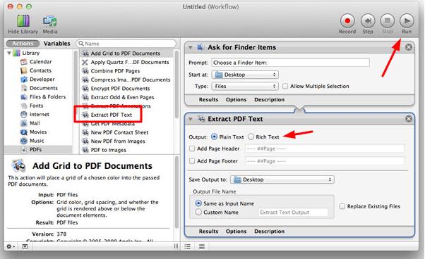 Para conversor de pdf texto