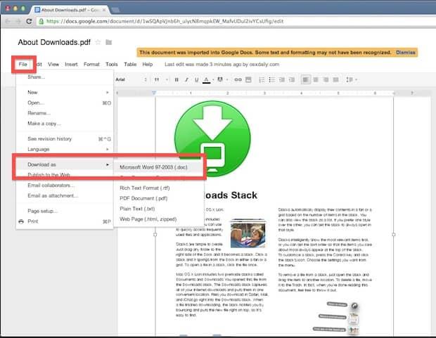 converter-texto-para-pdf-no-mac-googledocs