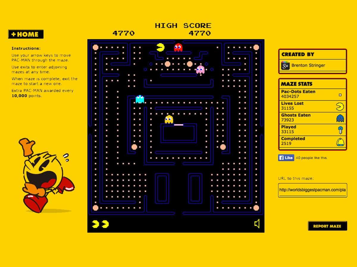jogos-para-navegador-pacman