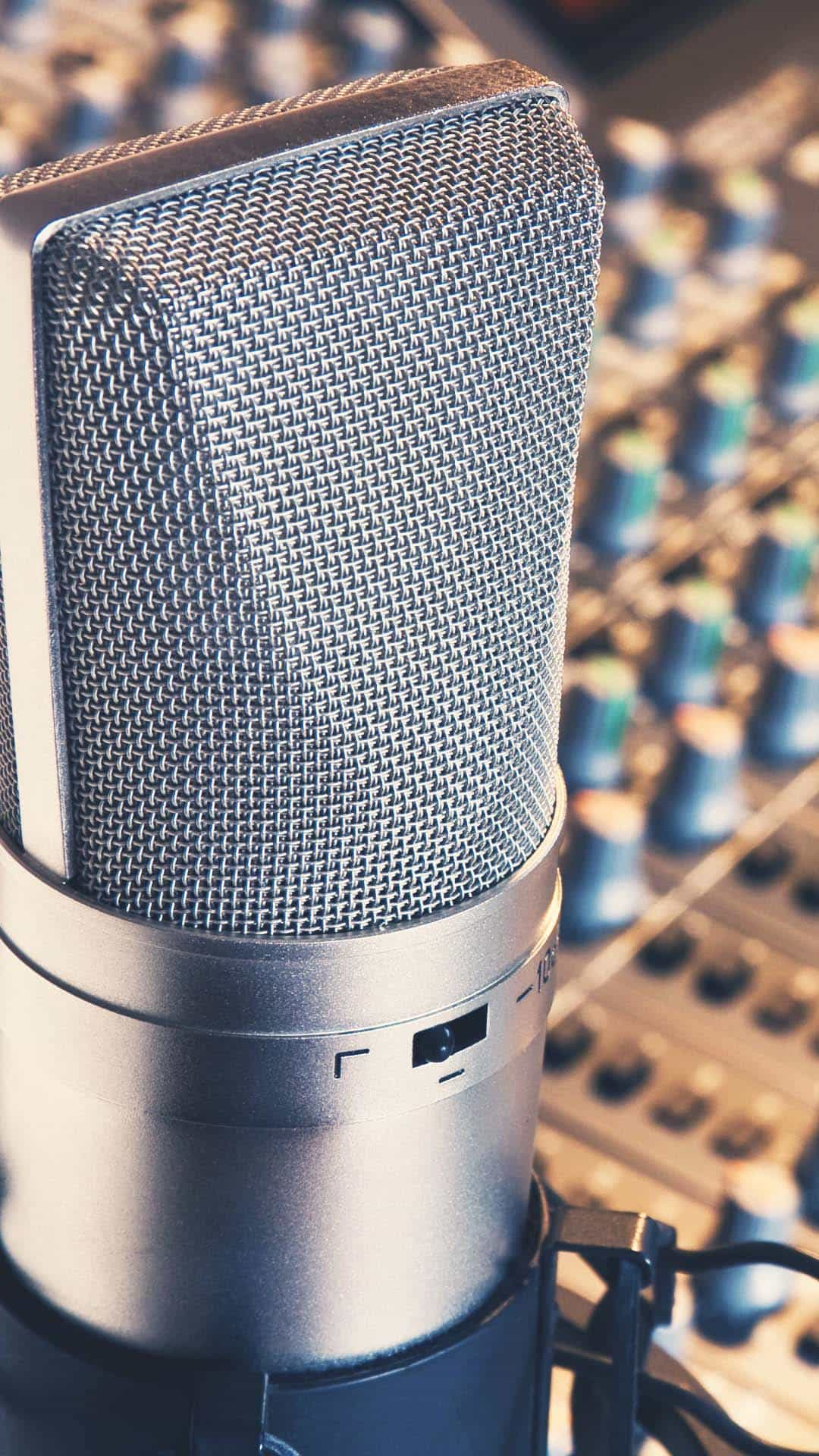 studio-microphone-samsung-android-wallpaper