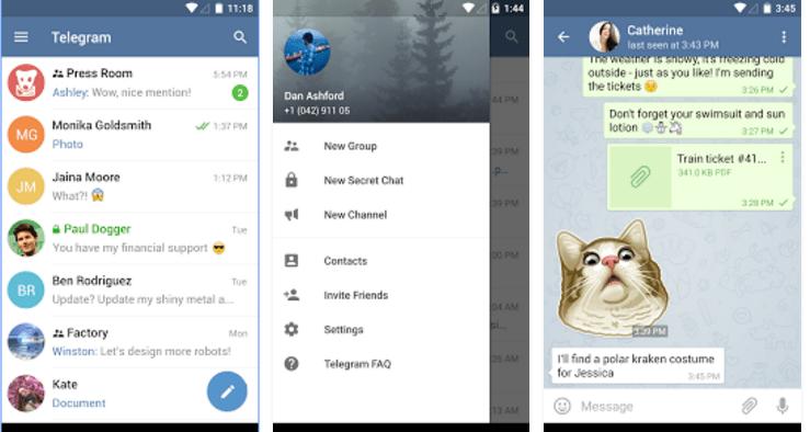 aplicativos-para-android-telegram
